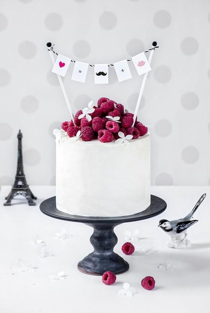 recette-gateau-anniversaire-gateau-anniversaire-original-idée-personnalisée-eiffel-tour