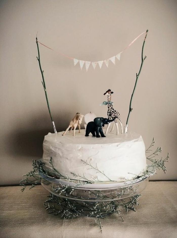 recette-gateau-anniversaire-gateau-anniversaire-original-idée-personnalisée-les-animaux