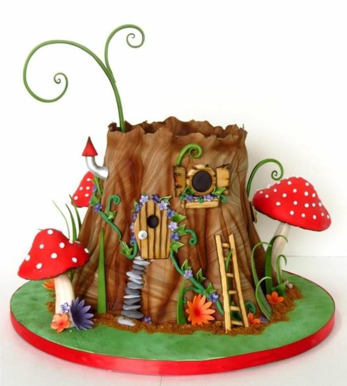 reel-photo-anniversaire-images-gâteau-d-anniversaire-gateaux-anniversaire-fille-foret