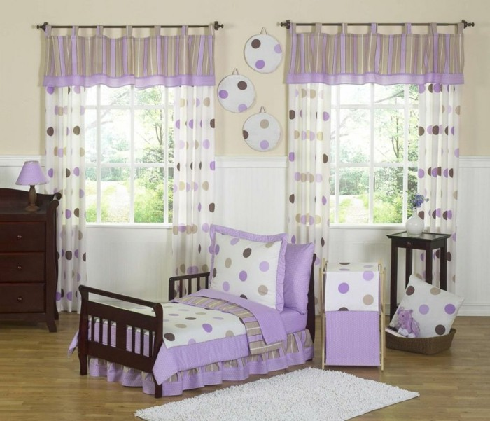 rideau chambre bebe fille perfect stickers chambre bebe fille pas cher rideaux motifs papillon. Black Bedroom Furniture Sets. Home Design Ideas