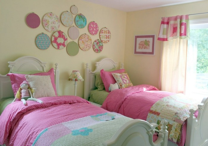 7 Inspiring Kid Room Color Options For Your Little Ones: Rideaux Chambre Fille Qui Font La Différence
