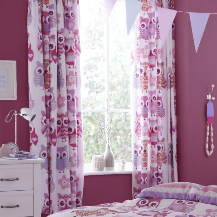 Rideaux chambre fille rose - Rideaux chambre ado fille ...