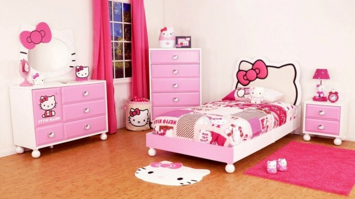 Rideaux chambre fille qui font la diff rence for Hello kitty chambre