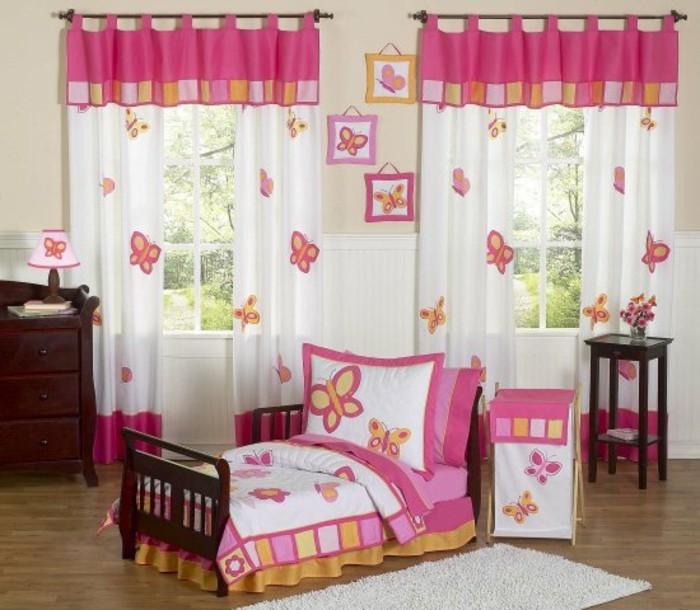 Chambre Bebe Gris Orange : Chambre Adolescent Fille Ikea ~ rideaux chambre fille papillons qui
