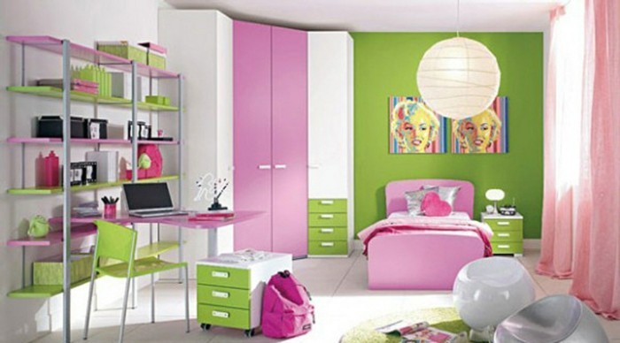 rideaux-chambre-fille-rose-Marilyn-resized