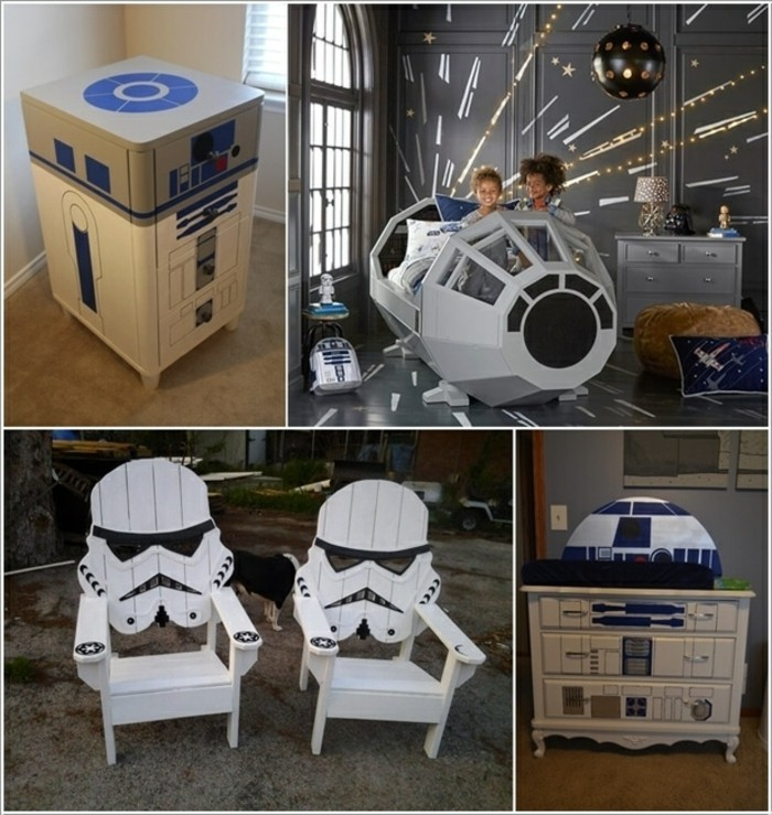 d co chambre star wars d co sphair. Black Bedroom Furniture Sets. Home Design Ideas