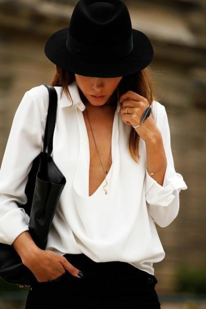robe-chemise-blanche-chemise-a-carreaux-femme-chemise-bucheron-chapeau