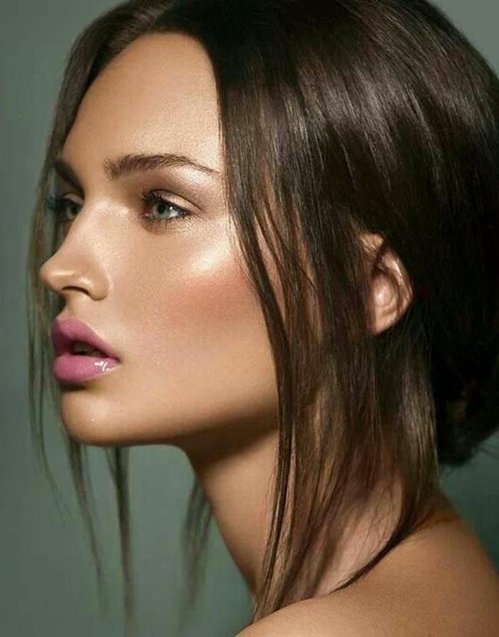 rouge-a-levres-longue-tenue-rouge-a-levres-sephora-cheveux-marrons-pour-les-filles-modernes-yeux-bleus