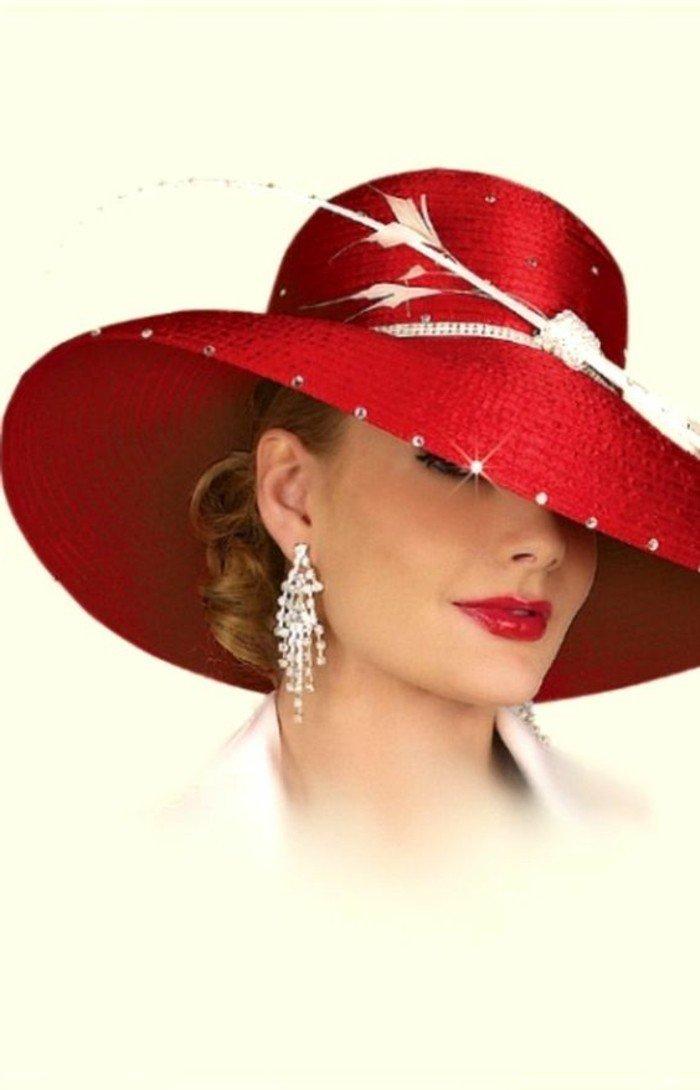 rouge-vermillon-chapeau-élégante-une-idee-à-representer-cristales