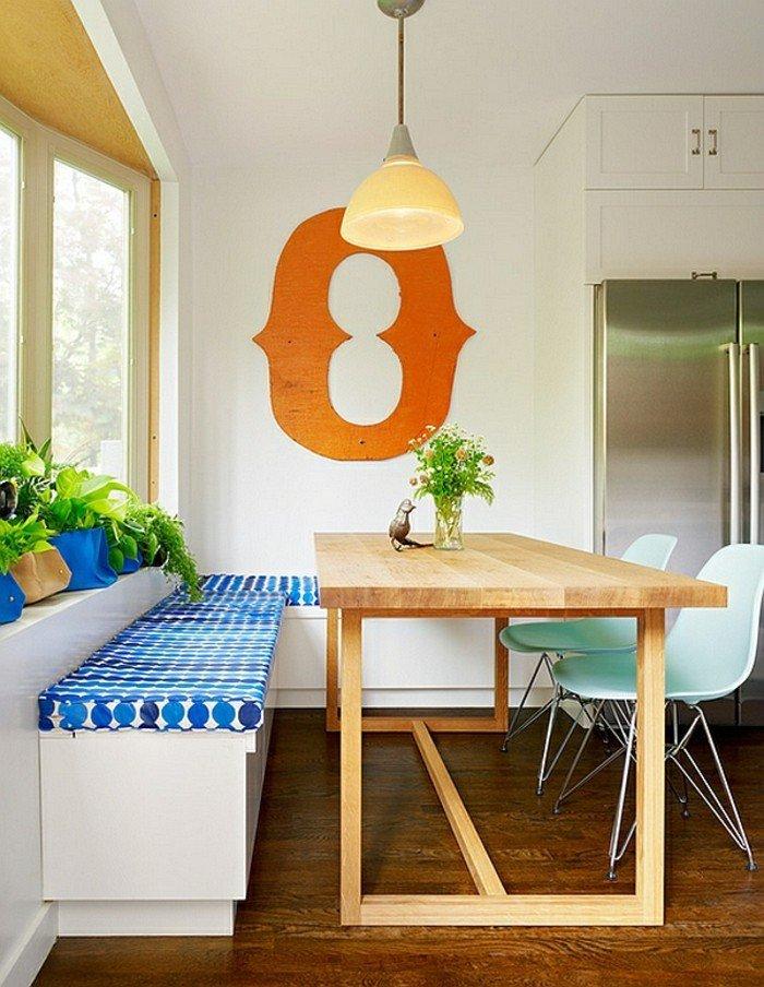 rustique-chaise-ikea-meuble-salle-à-manger-table-bois-massif-intérieur-banc-et-chaises