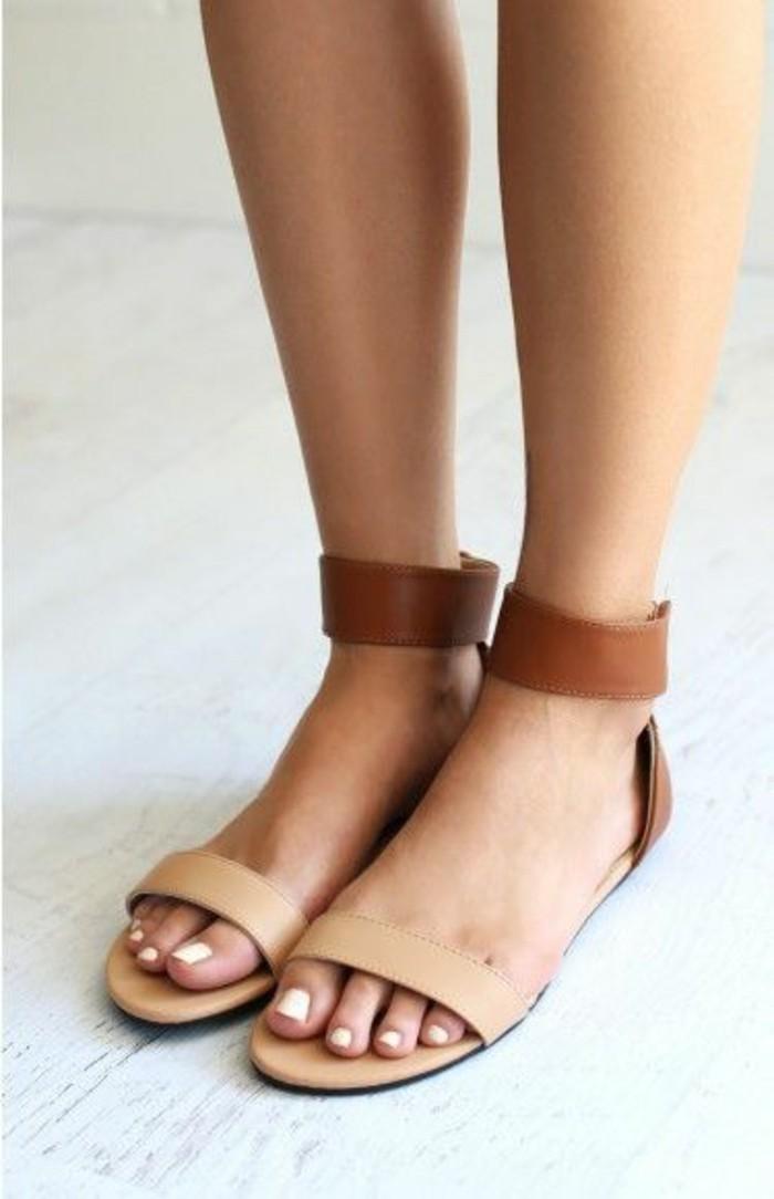 sandales-beiges-mode-2016-chaussures-d-ete-femme-design-en-cuir