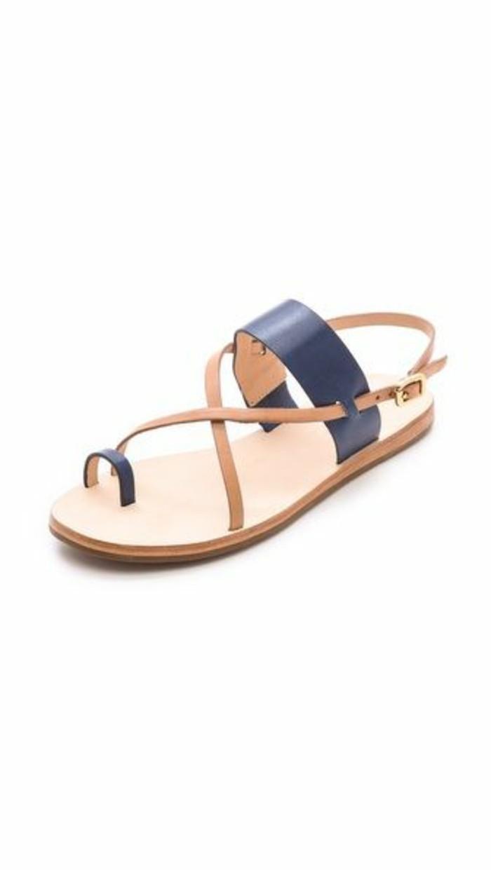 les dernières tendances chez les sandales plates! - archzine.fr