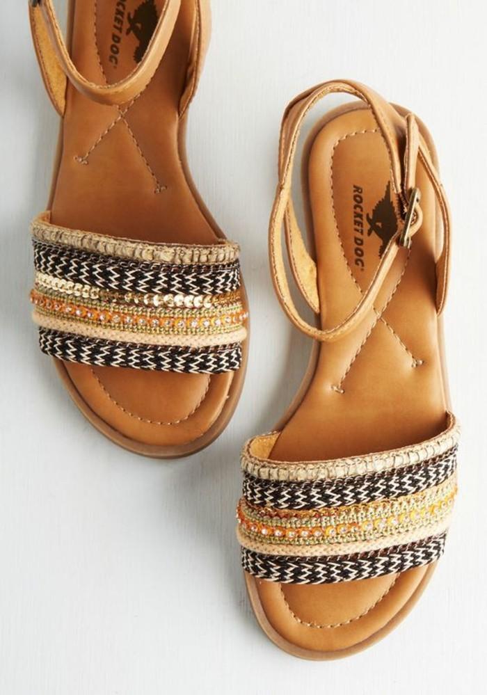 sandales-femme-cuir-design-chic-les-sandales-pas-cher-femme-en-cuir