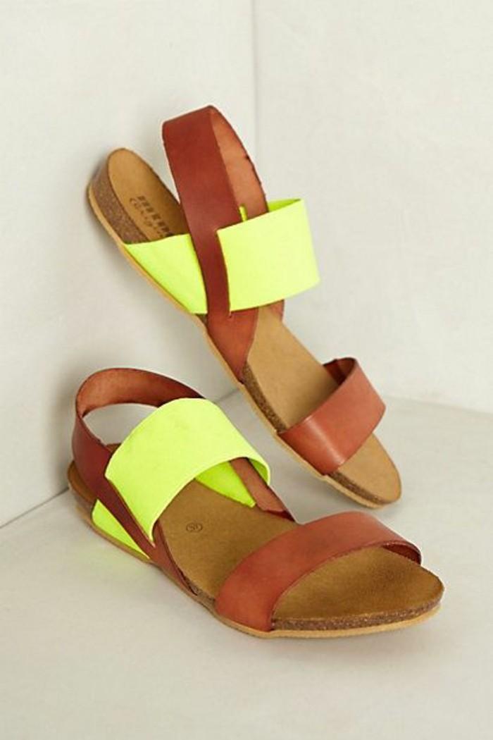 483563d1fbb Les dernières tendances chez les sandales plates! - Archzine.fr