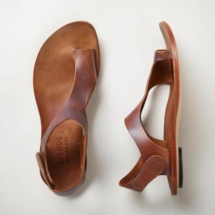 sandales-plates-femme-en-cuir-marron-chaussures-d-ete-femme-en-cuir-sandales