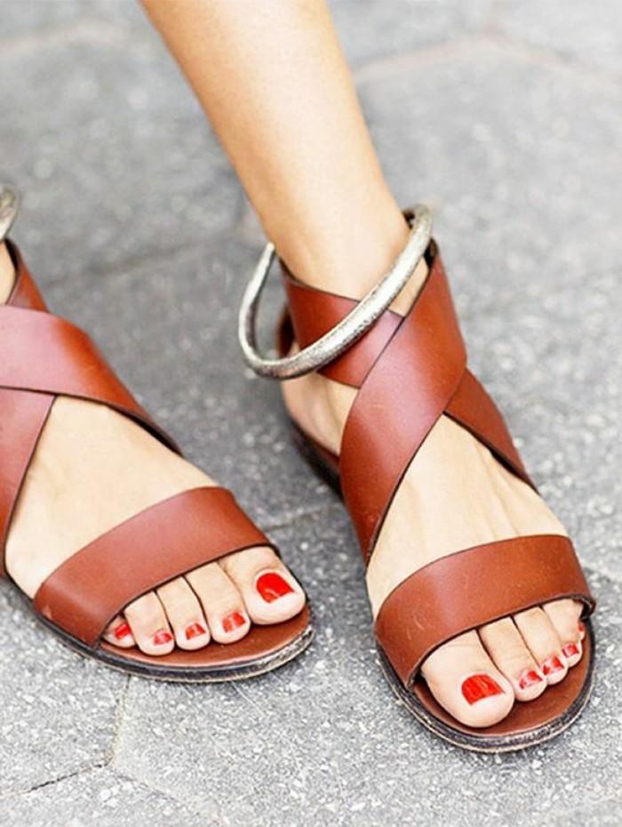 chaussures femmes plates cuir ad91edcf9677