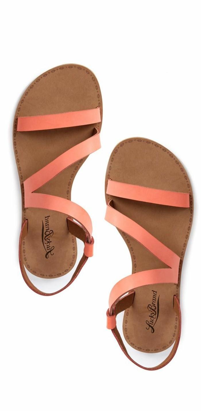sandales-roses-femme-sandales-en-cuir-sandales-pas-cher-femme-2016