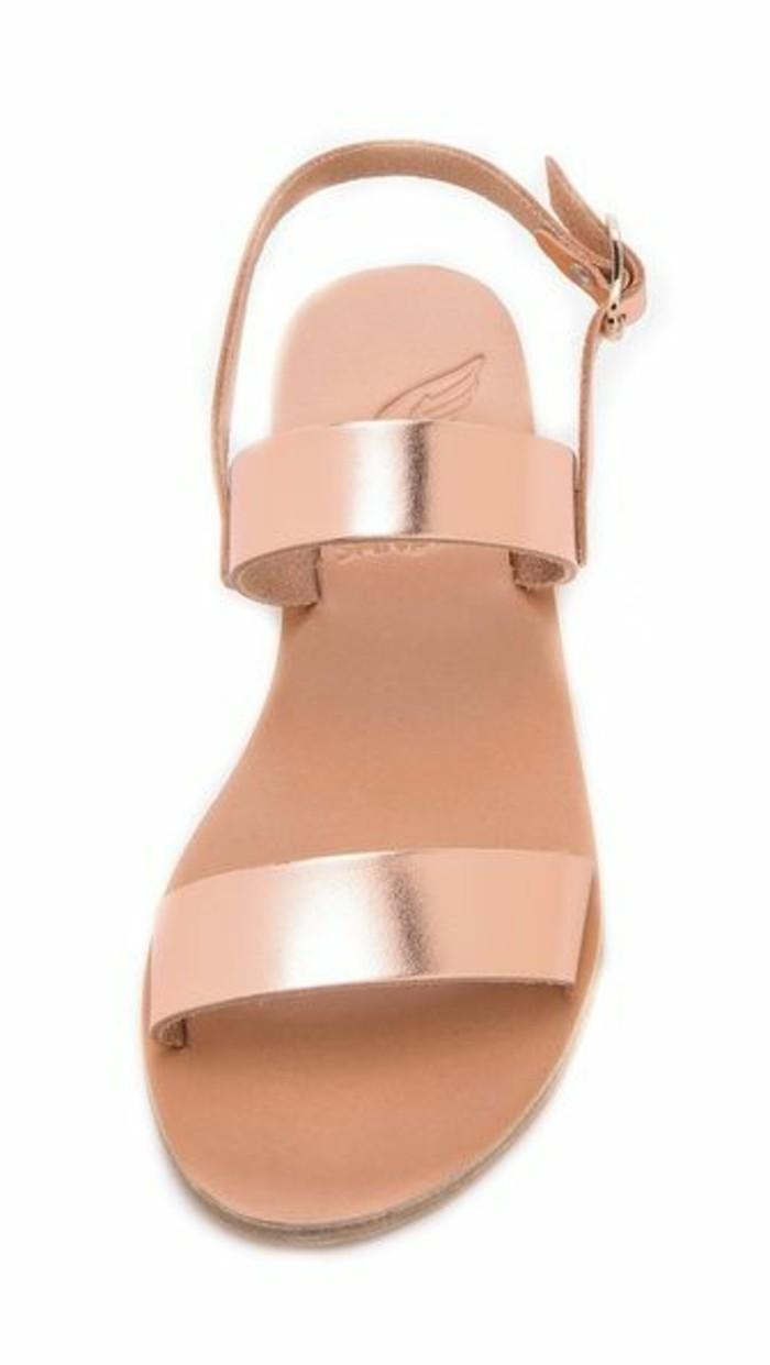 sandales-roses-femme-spartiates-femme-sandales-en-cuir-beige-rose