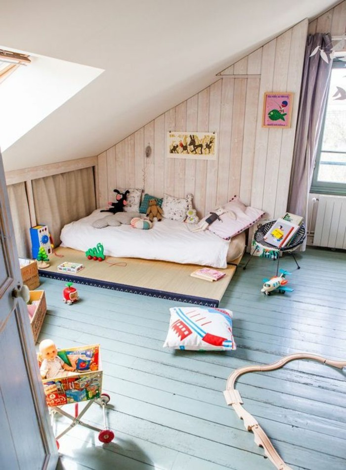 Sol chambre chambre avec sol marron chambre sol marron for Carreau bleu mur salle de bain marseille