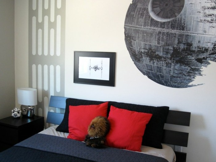 stickers-alinea- drap-star-wars-design-interieur-chambre-enfant-la-death-star