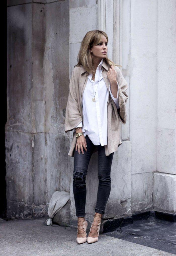 style-chemise-manche-courte-homme-chemise-carreaux-femme-belle