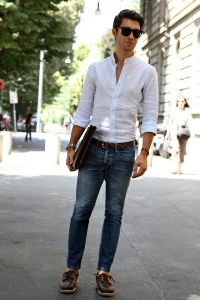superbe-chemise-kaki-femme-chemise-noire-homme-chemise-manche-courte-homme