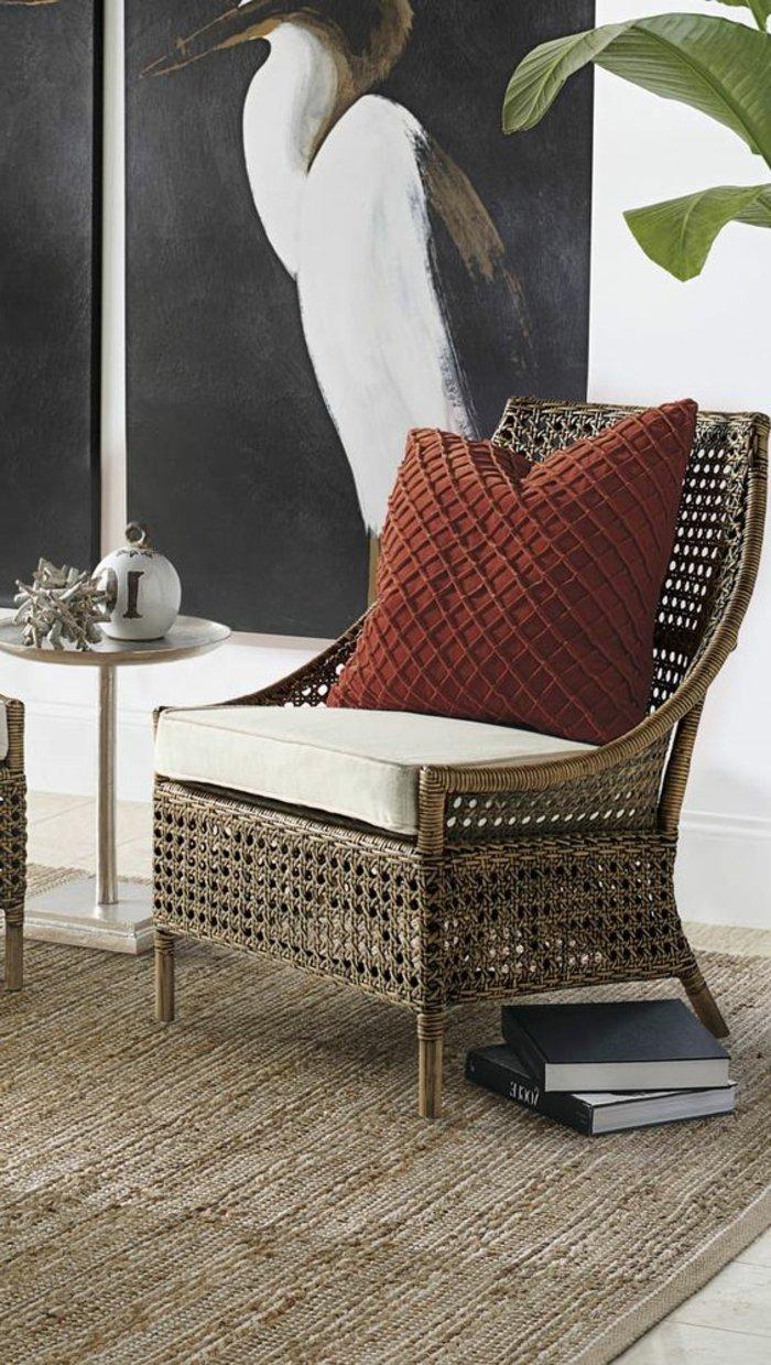 superbe-idée-pour-votre-salle-de-séjour-avec-fauteuil-enfant-rotin-intérieur-idee-rustique-interieur