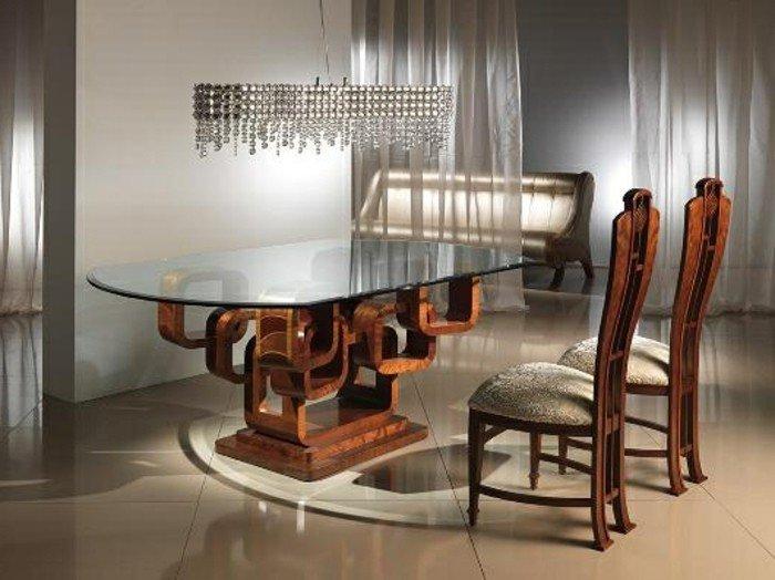 superbe-table-scandinave-table-carrée-avec-rallonge-pas-cher-lustre-baroque