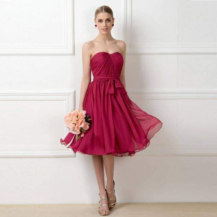 superbe-tenue-de-mariage-robe-mariee-robes-cocktail-une-idée-classique-en-rose