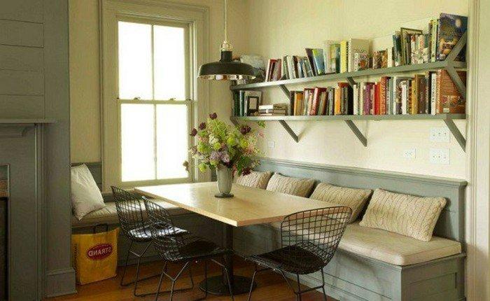 table-vert-carrée-extensible-meuble-salle-a-manger-cool-idée-intérieur