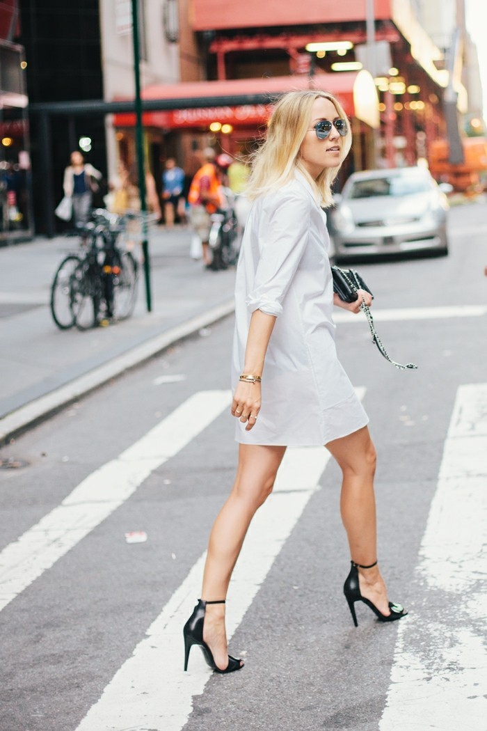 tenue-de-jour-chemise-jean-femme--chemises-hommes-chemise-longue-femme-jolkie