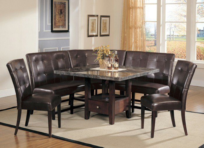 une-table-verre-table-à-manger-extensible-inspiration-pièce-cuisine-une-idee-classique
