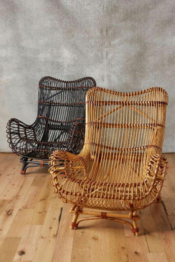 une-vintage-canapé-rotin-fauteuil-en-osier-chaises-rotin-chaise-en-osier-
