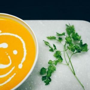 Le velouté de carottes - facile, joli et savoureux!