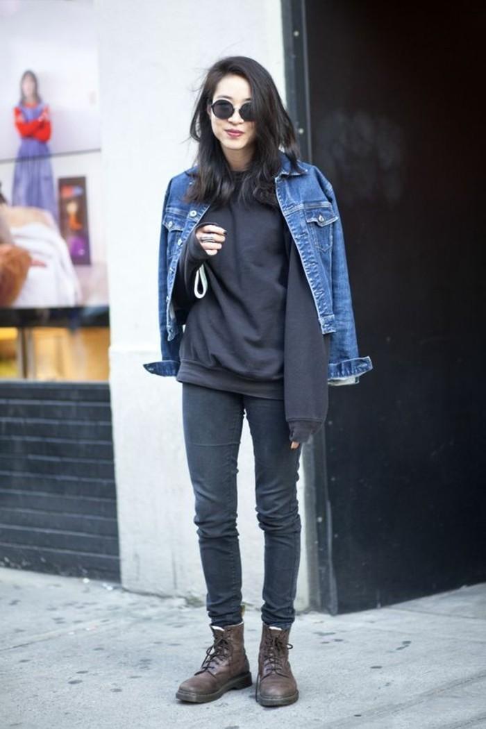 veste-en-denim-femme-veste-en-jean-boyfriend-femme-modèle-moderne-design