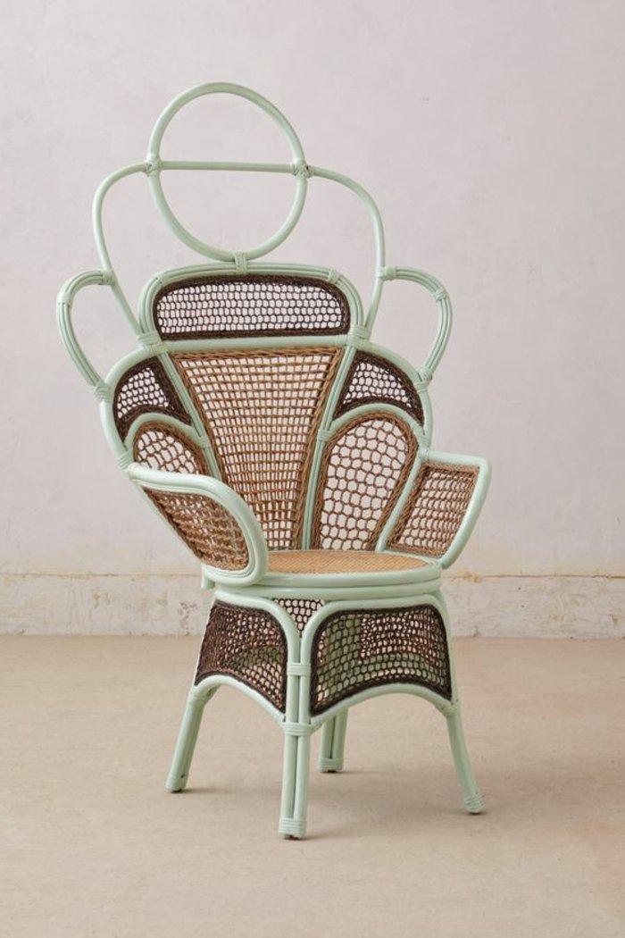 vintage-canapé-rotin-fauteuil-en-osier-chaises-rotin-chaise-en-osier-vert-claire-minthe