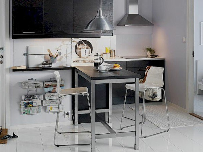 80 id es pour bien choisir la table manger design for Table a manger haute