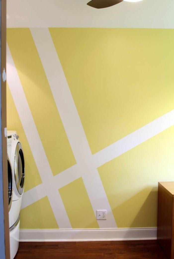 Nos astuces en photos pour peindre une pi ce en deux for Les differents gris en peinture
