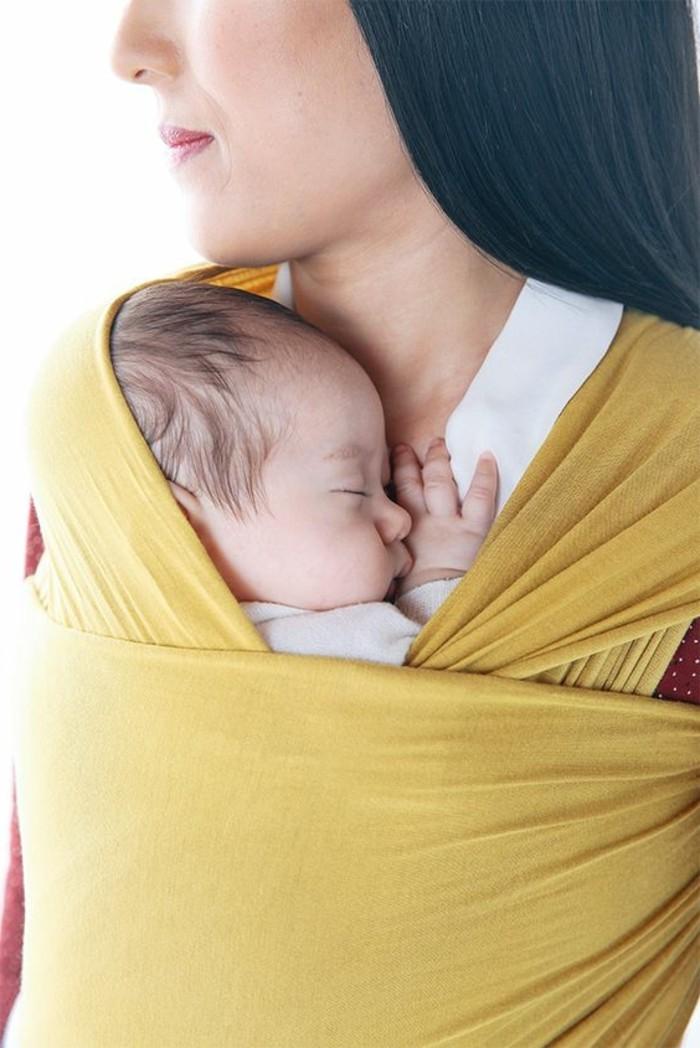 0-echarpe-de-portage-jpmbb-echarpe-en-tissu-jaune-comment-porter-le-bebe