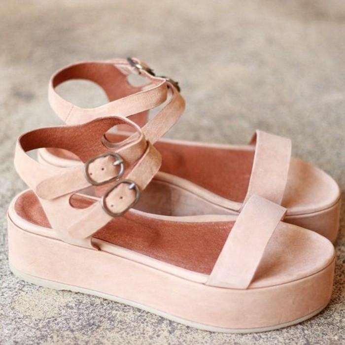 0-jolis-sandales-en-rose-mode-automne-2016-femme-sandales-rose