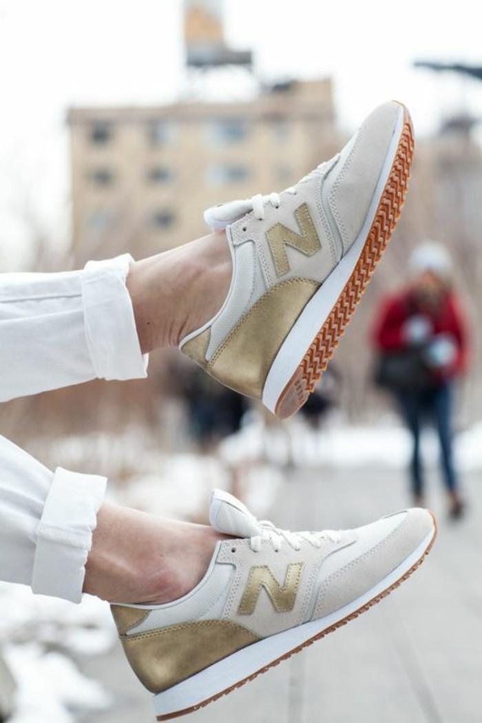 1-basket-femme-tendances-pour-2016-beige-doré-basket-beige-tendance-de-la-mode