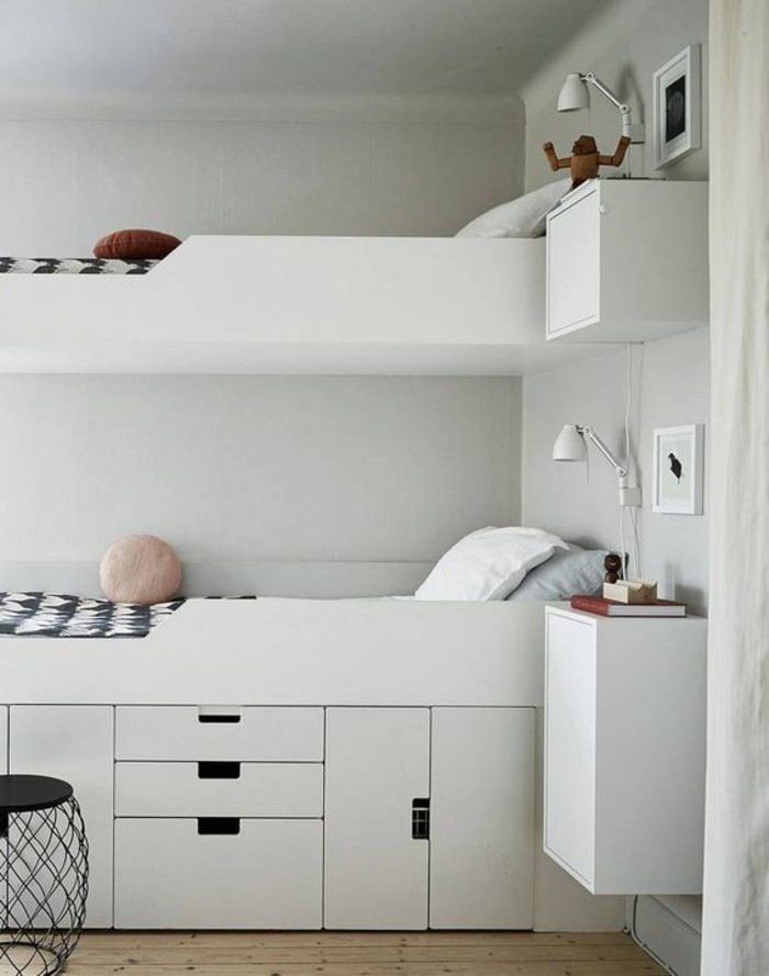 chambre enfant de 9m2 avec mezzanine. Black Bedroom Furniture Sets. Home Design Ideas