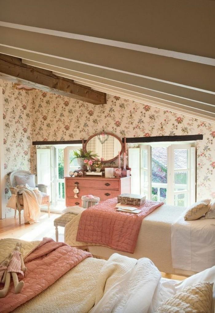 Tout pour votre chambre mansard e en photos et vid os for Chambre a coucher style provencal