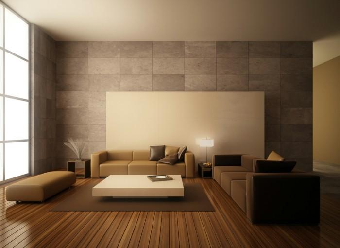 1-decoration-murale-avec-paneau-mural-gris-comment-decorer-les-murs