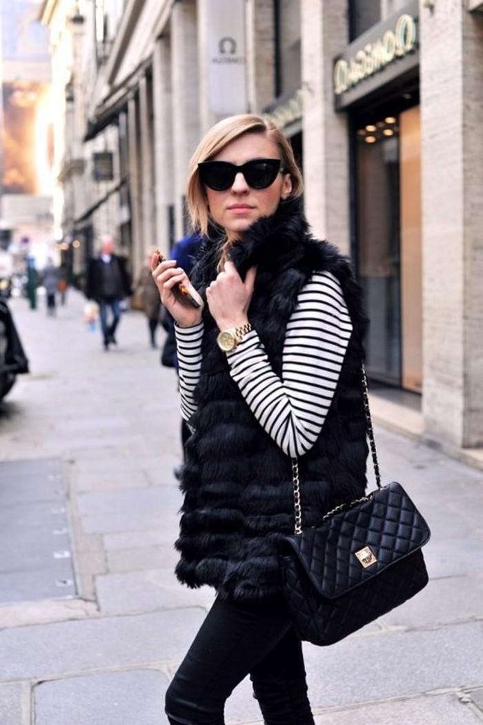 1-gilet-fourrure-noir-sac-a-dos-en-cuir-noir-comment-porter-un-sac-en-cuir-noir-lunettes-de-soleil