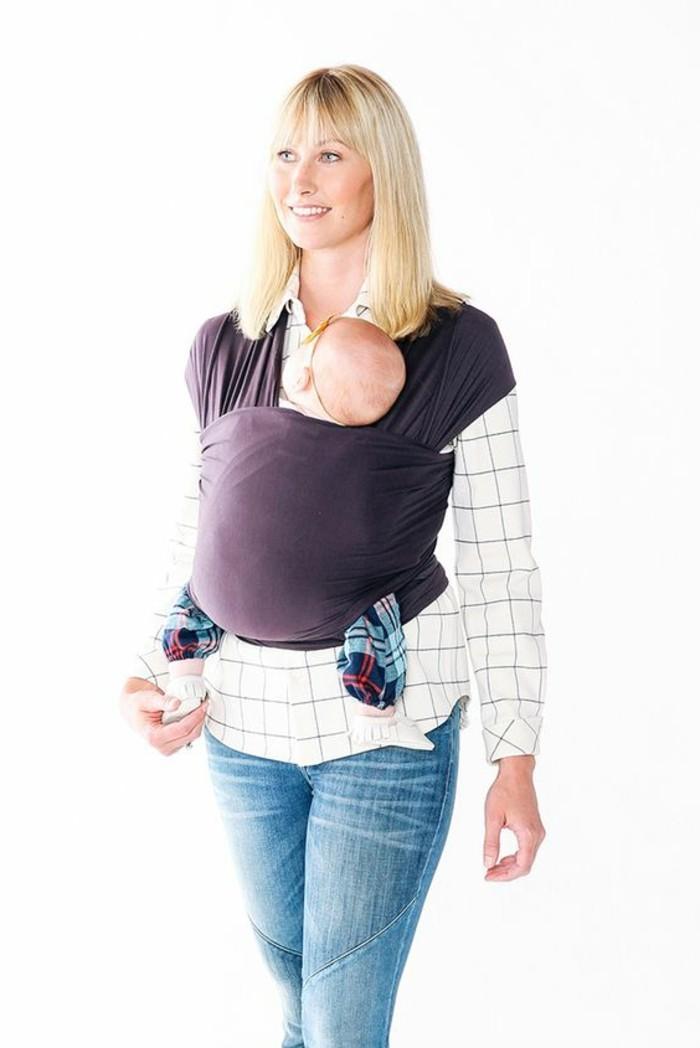1-joli-echarpe-de-portage-jpmbb-en-tissu-de-couleur-violette-comment-porter-sons-bebe