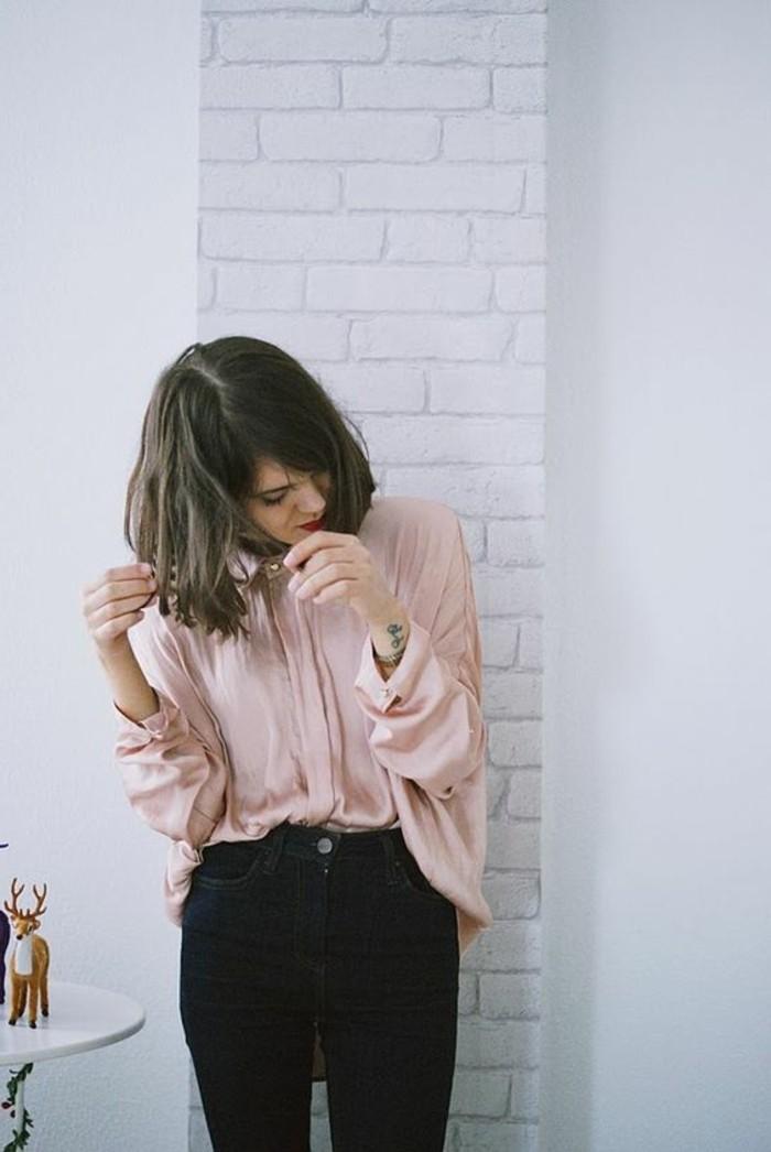 1-jolie-chemise-en-rose-pale-denim-bleu-noir-tendances-femme