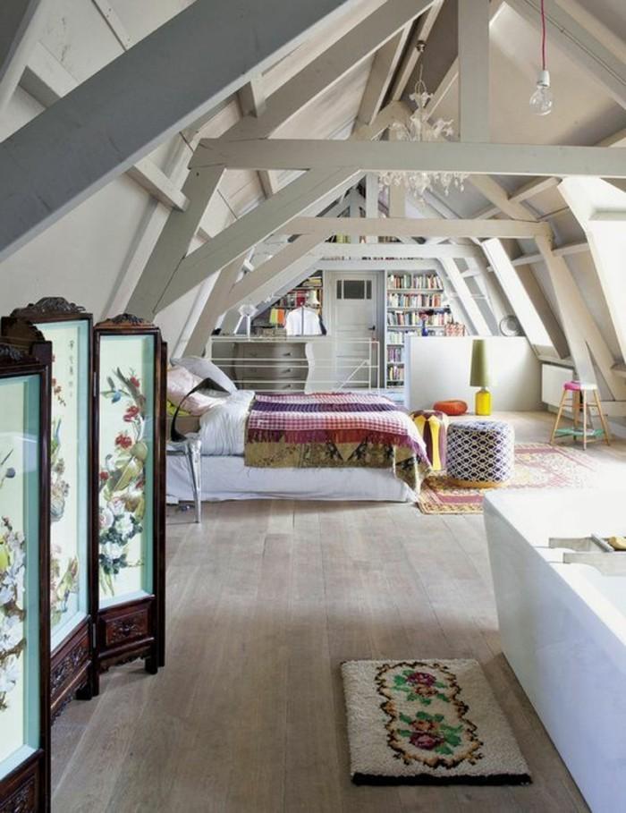 1-la-plus-belle-chambre-mansardée-chambres-dans-les-combles-meubles-scandinaves