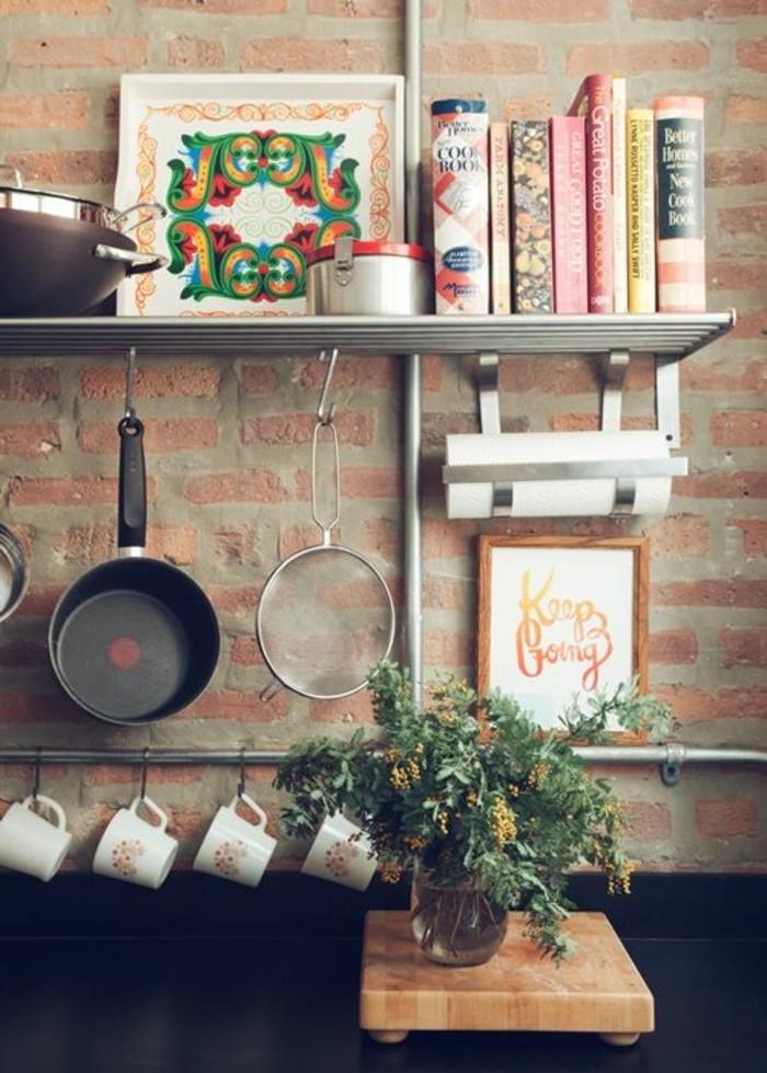 Le rangement mural comment organiser bien la cuisine for Organiser une cuisine