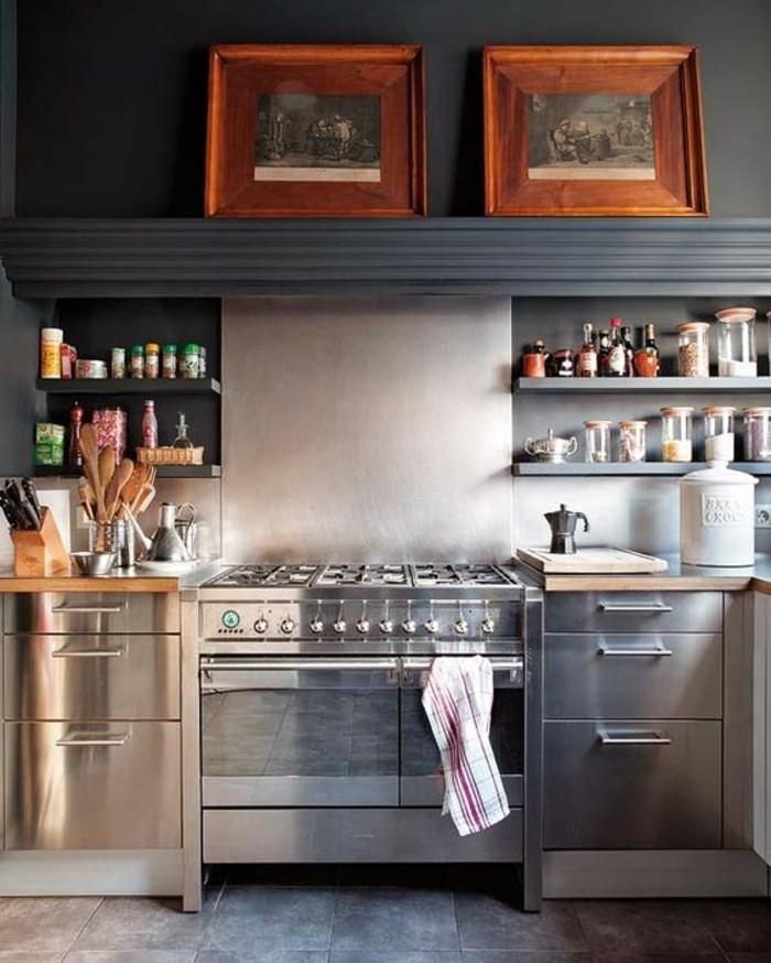 1-rangement-mural-etagere-murale-cuisine-carrelage-gris-pour-la-cuisine-meubles